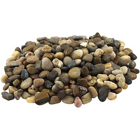 Rain Forest Small Mixed Polished Pebbles 2,200 lb.