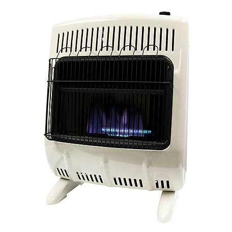 Mr. Heater Vent-Free 20,000 BTU Liquid Propane Blue Flame Heater, F299720