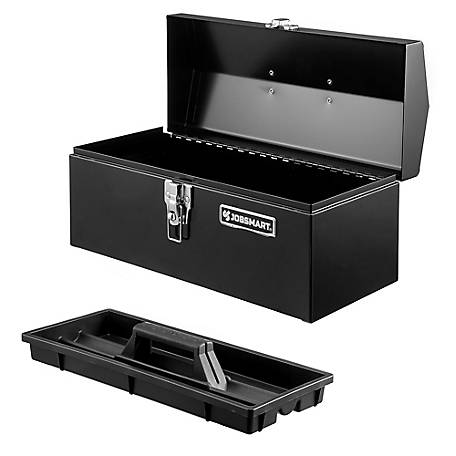 JobSmart 16 in. Steel Hip Roof Toolbox , 2209S797