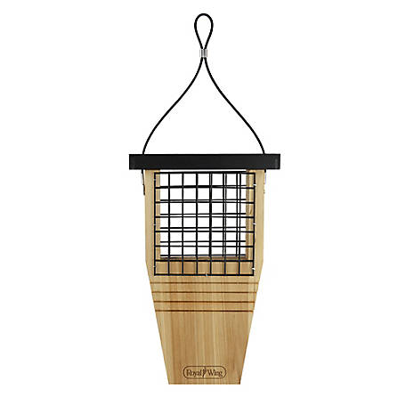 Royal Wing Cedar Tail Prop Suet Feeder, RWCF1