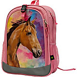 John Deere Girl Horse Backpack
