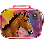 John Deere Girl Horse Lunchbox