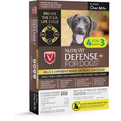 Shop Nutri-Vet Defense Plus Flea & Tick for Dogs at Tractor Supply Co.