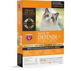 Shop Nutri-Vet Defense Plus Flea & Tick Cats at Tractor Supply Co.
