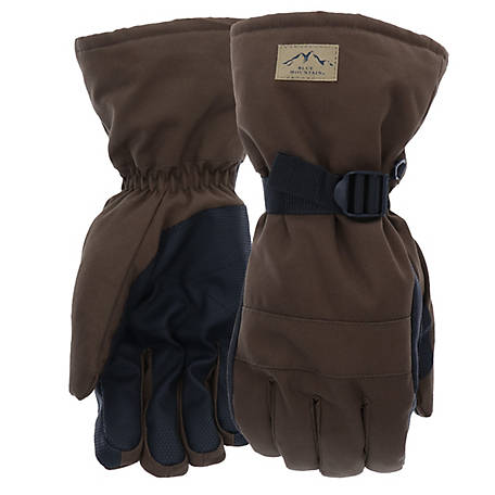 Blue Mountain Men's Arctic Insulated Duck Glove