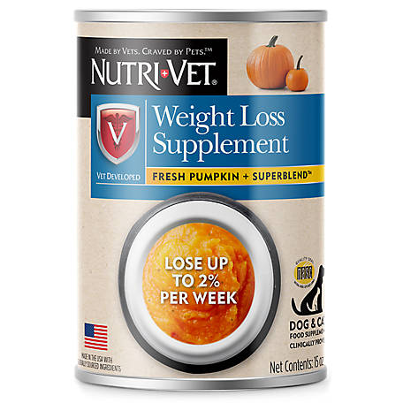 Nutri-Vet Weight Loss Supplement Topper, 15 oz.