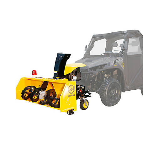 Massimo Universal 60 in.420cc UTV Snow Blower Attachment, ZLST13150