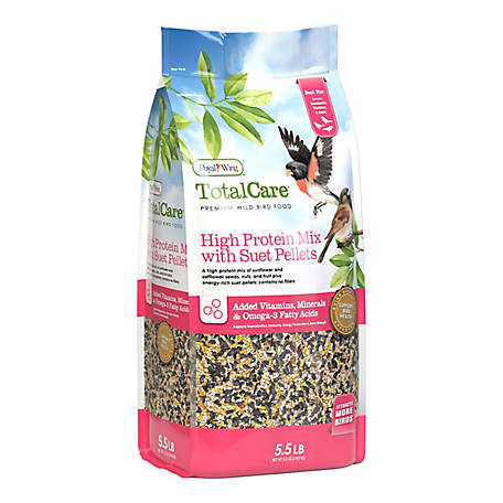 Royal Wing Total Care High Protein Mix with Suet Pellets, 5.5 lb.