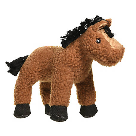 MuttNation Fueled by Miranda Lambert Lambswool Horse Squeaking Dog Toy, 1213