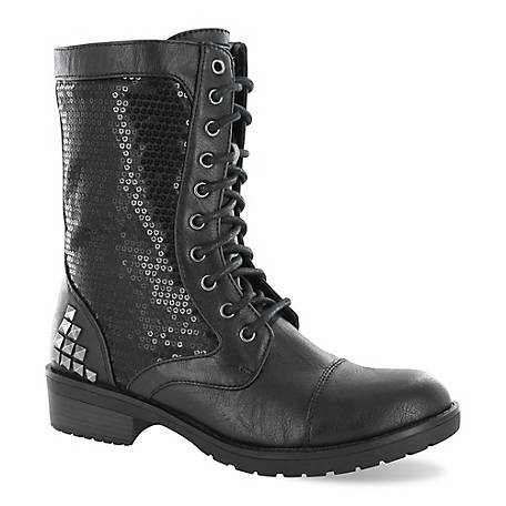 Gotta Flurt Women's Swag HD Combat Boot, 473003