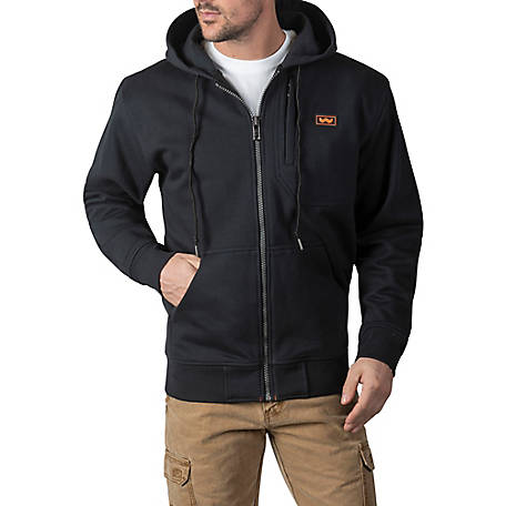 Walls Men's 3 lb. Heavyweight Full Zip DWR Fleece Hoodie