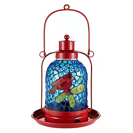 Royal Wing Cardinal Holiday Bird Feeder, 180706R