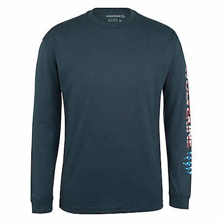 Wolverine Men's Long Sleeve Tee, W1207190