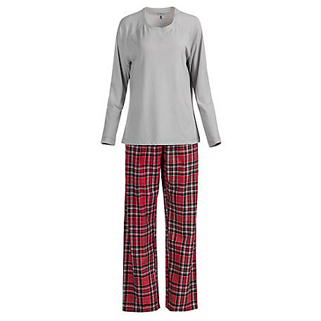 Blue Mountain Women's Plaid Pajama Set