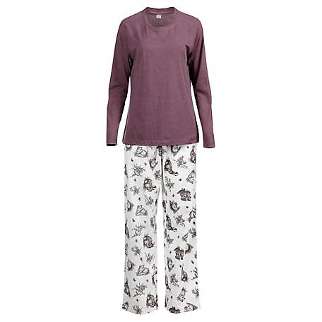Blue Mountain Women's Animal Pajama Set