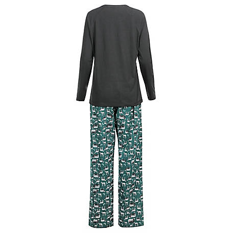 Blue Mountain Women's Sheep Pajama Set