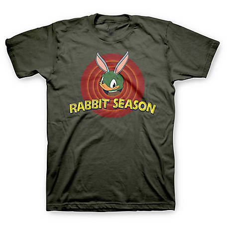 Farm Fed Clothing Men's Short Sleeve 'Rabbit Season' Tee TSC0897