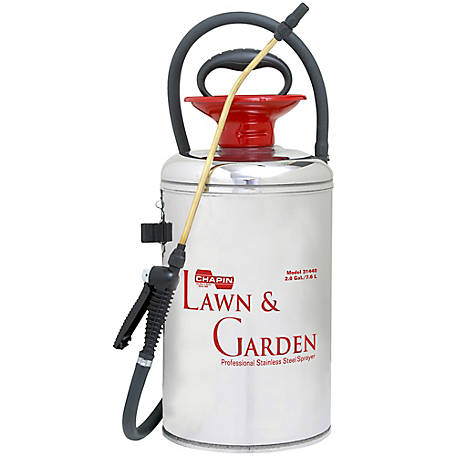Chapin 2 gal. Lawn & Garden Series Stainless Steel Sprayer, 31440