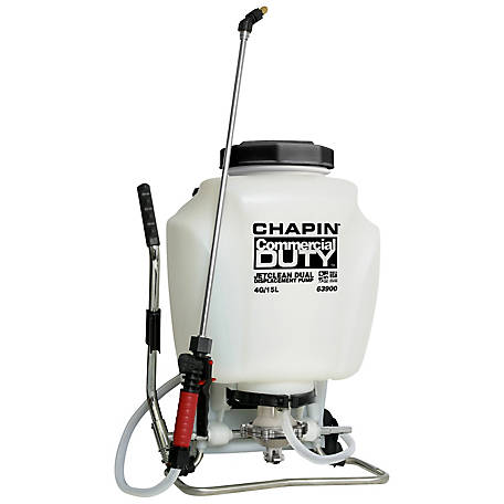 Chapin 4 gal. Self-Cleaning Backpack Sprayer with Hand Sprayer Combo, 63900