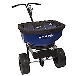 Chapin 80- lb. Pro Sure Spread Salt/Ice Melt Spreader with Baffles, 82088B
