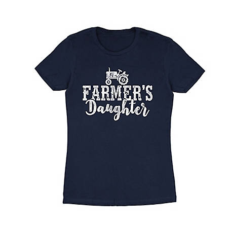 Farm Fed Clothing Women's Short Sleeve Farmers Daughter T-Shirt