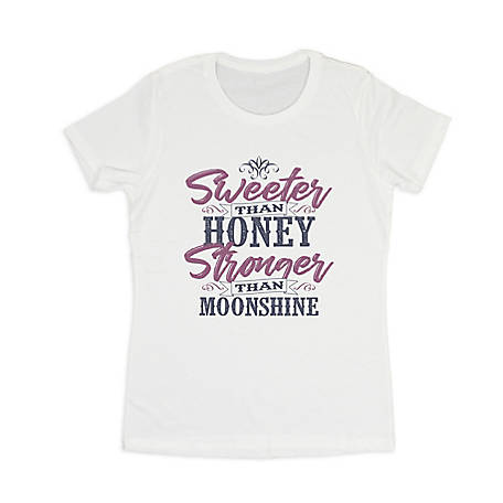 Farm Fed Clothing Women's Short Sleeve Sweeter Than Honey T-Shirt