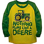 John Deere Boys' Toddler Long Sleeve Tee Like Deere, J2T368YTT