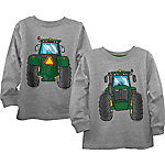 John Deere Boys' Toddler Long Sleeve Tee Tractor, J2T362HTT