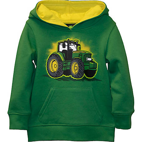 John Deere Boys' Toddler Long Sleeve Pullover Fleece, J2J391GTT