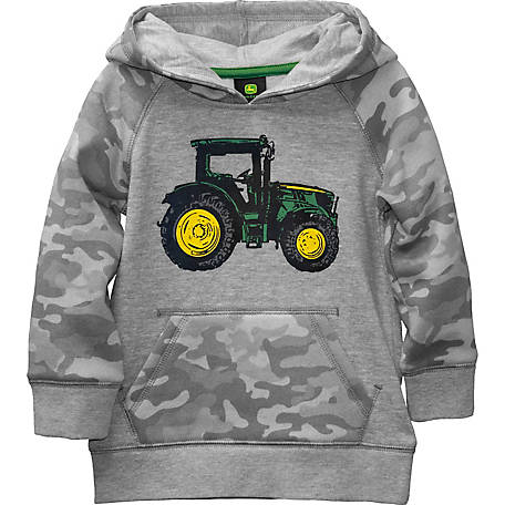 John Deere Boys' Toddler Tractor Fleece, J2J392HTT