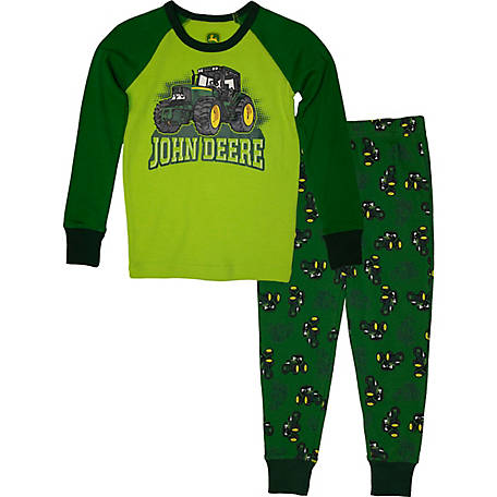 John Deere Boys' Toddler Boy's PJ Set Tractor, J2S505GTT