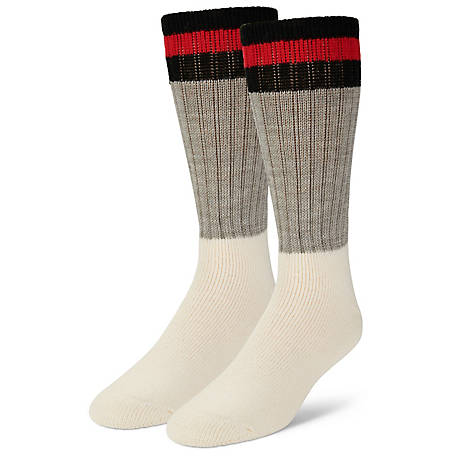Blue Mountain Men's Heavy Over-the-Calf Sock, 2 Pack