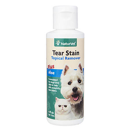 NaturVet Tear Stain Remover Topical 4 oz., 79903814