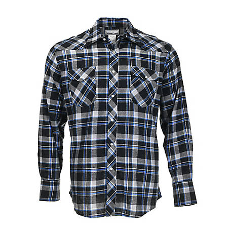 Wrangler Men's Wrangler Men's Long Sleeve Flannel Shirt