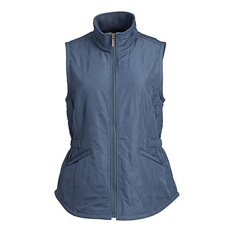 Blue Mountain Women's Solid Quilted Vest