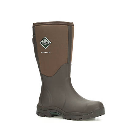 Muck Boot Company Women's Wetland XT - Extended Fit, Brown (WWET)