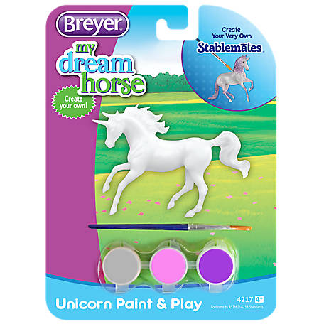 Breyer Stablemates Paint And Play Unicorn, 5464