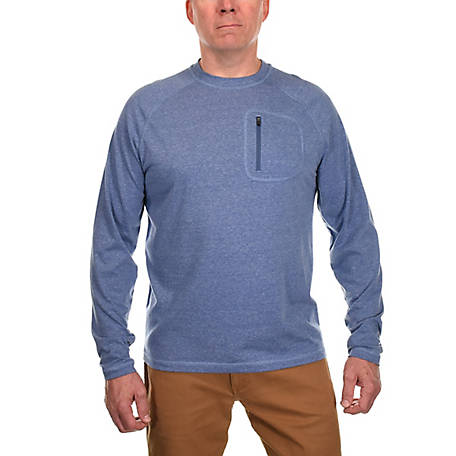 Ridgecut Men's Long Sleeve Raglan Active T-Shirt