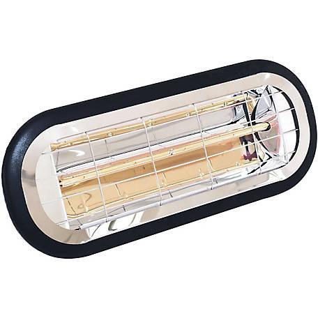 Hanover Electric Halogen Infrared Heat, Outdoor Halogen Heat Lamp