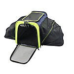 Iconic Pet Ventilated Two-Sided Expandable and Spacious Pet Travel Carrier for Dogs and Cats, 51583