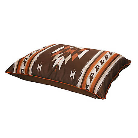 MuttNation Fueled by Miranda Lambert Southwest Pillow Bed, Red