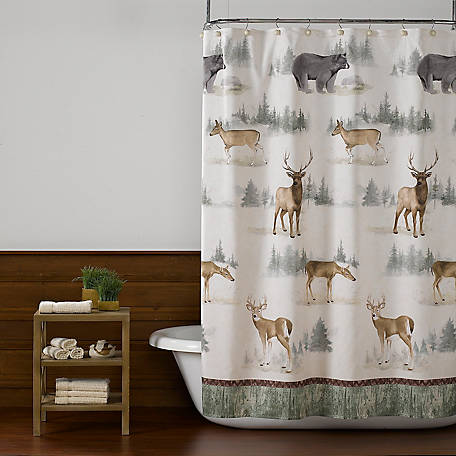 SKL Home Home On The Range Fabric Shower Curtain
