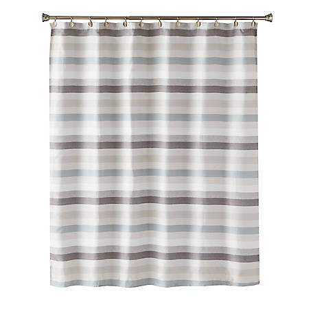 SKL Home Westwick Stripe Fabric Shower Curtain at Tractor Supply Co