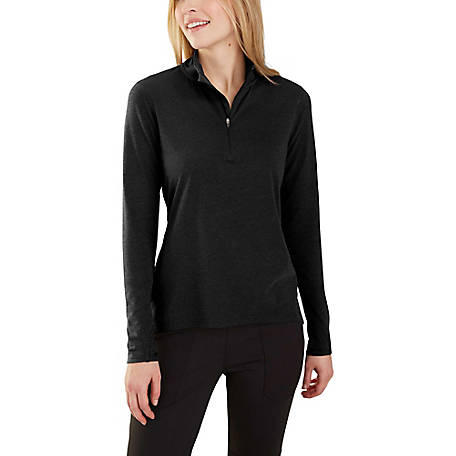 Carhartt Women's Force Quarter Zip Fleece, 103597