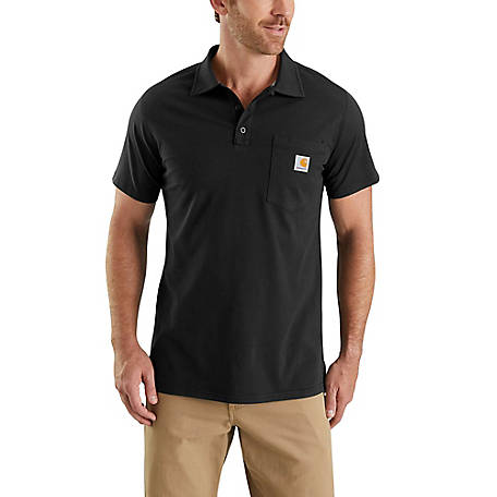 Carhartt Men's Short Sleeve Force Polo Shirt, 103569