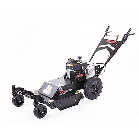 Swisher 11.5 HP Briggs & Stratton 24 in. Self-Propelled Walk-Behind Rough-Cut Mower with Casters, WRC11524BSC