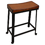 Carolina Chair & Table 24 in. Saddle Seat Stool, TS924CHETBK