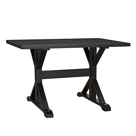 Carolina Chair & Table 48 in. Trestle Table, TST4830AB