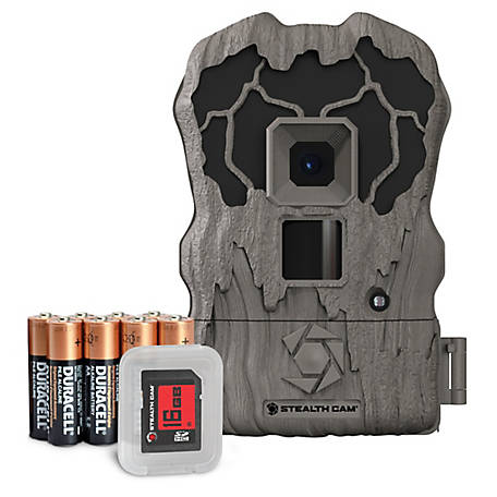 Stealth Cam QV Series 16Mp Ir Trail Cam W16GB SD, STC-QV16K