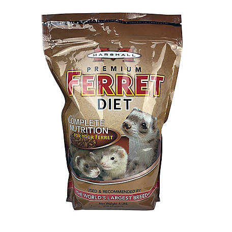 Marshall Premium Ferret Diet, 7 lb. Bag, FD-015